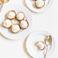 Mini Lemon Cheesecake Tarts - Sugar and Cloth