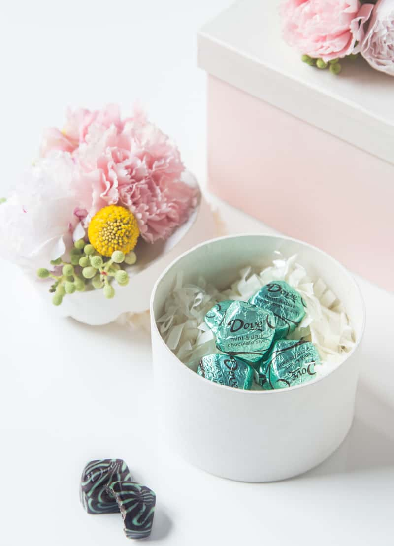 Diy Fresh Flower Gift Box Sugar Cloth Holiday Decor