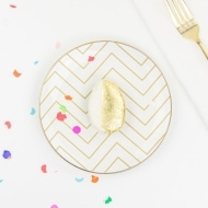Edible Golden Egg Place Settings - Sugar and Cloth