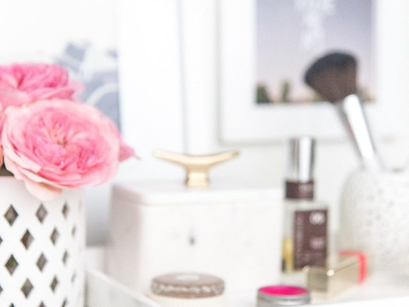 DIY Vanity Tray - Sugar and Cloth