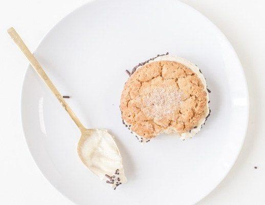 Snickerdoodle Ice Cream Sandwiches - Sugar and Cloth