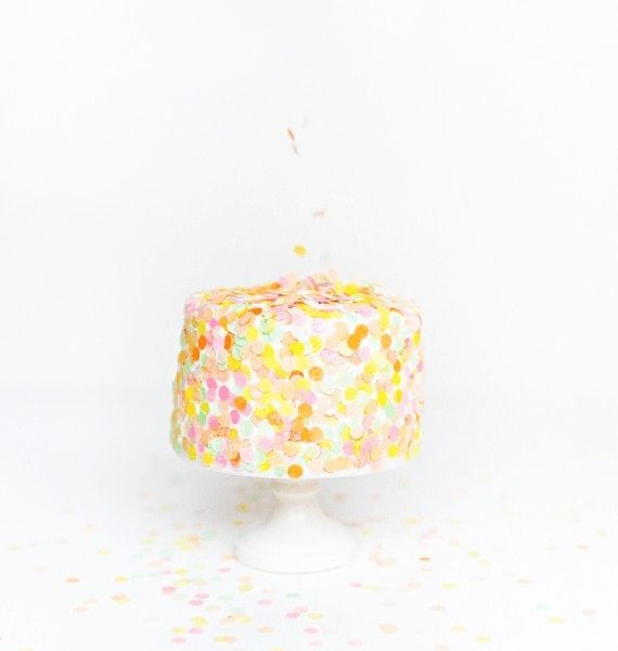DIY Edible Confetti - Sugar & Cloth