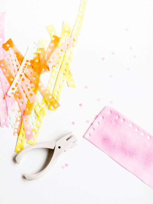 DIY edible confetti | sugarandcloth.com