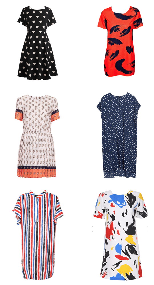 6 must-have patterned fall dresses | sugarancloth.com