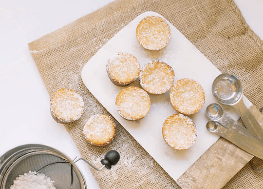 Mini Mochi Cakes Recipe by Top Houston Lifestyle Blogger Ashley Rose | sugarandcloth.com #fall #recipe #mochi #mochicakes #ricecakes #cake #mini