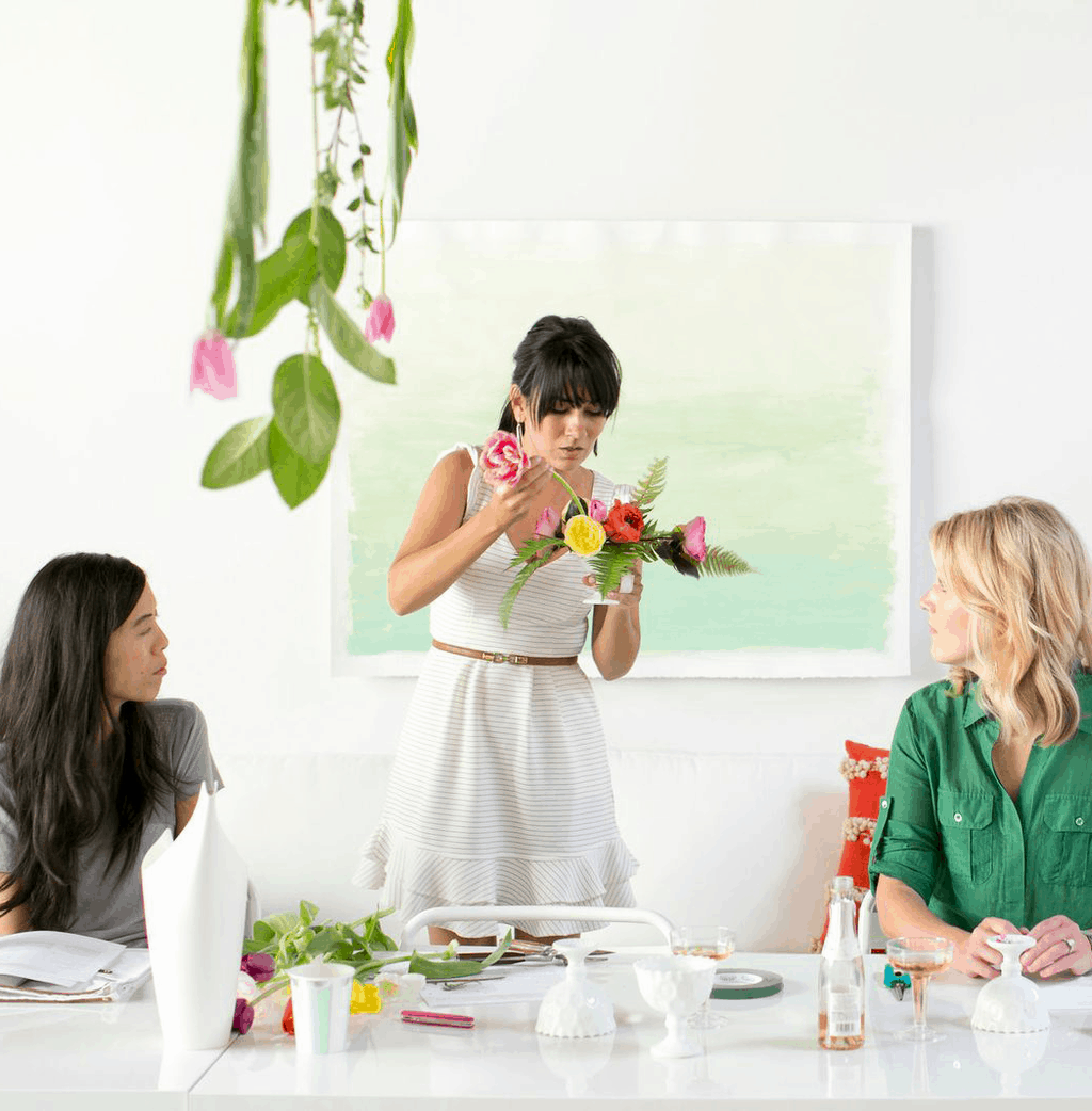 the Sugar & Cloth floral workshop | sugarandcloth.com