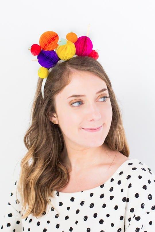 last-minute costume idea, DIY chiquita banana