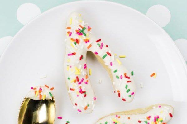 DIY wishbone donuts