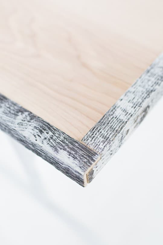DIY reclaimed wood folding table | sugarandcloth.com