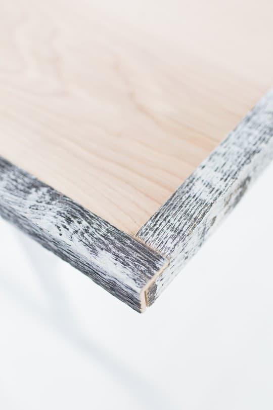 DIY reclaimed wood folding table | sugarandcloth.com