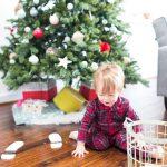 DIY santa footprints | sugarandcloth.com