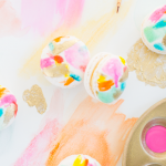 DIY Abstract Art Macarons