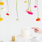 DIY Hanging Flower Installation