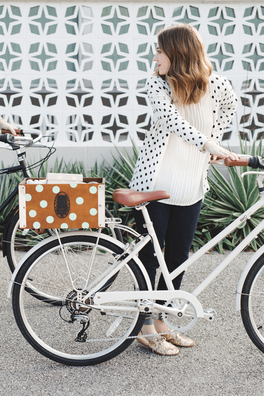 couple date day idea with biking and a picnic | sugar and cloth