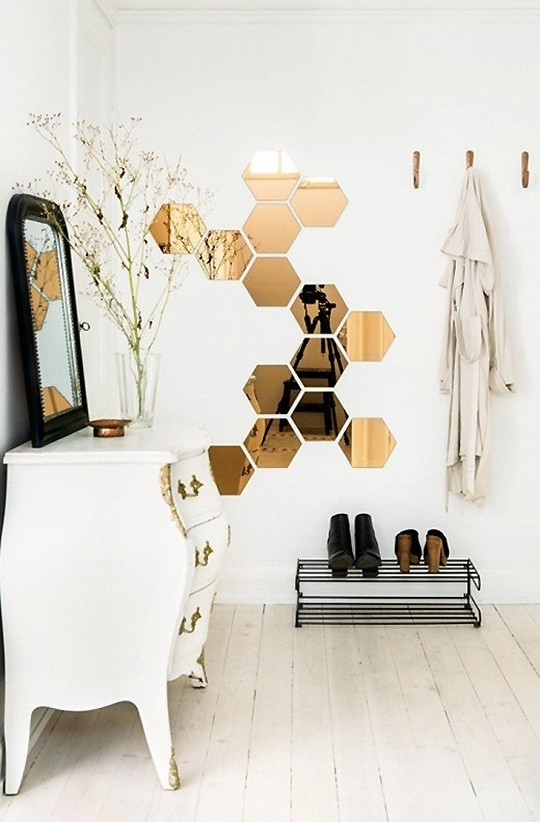 Hex Cellent Jump On The Hexagon Decor Trend Sugar Cloth