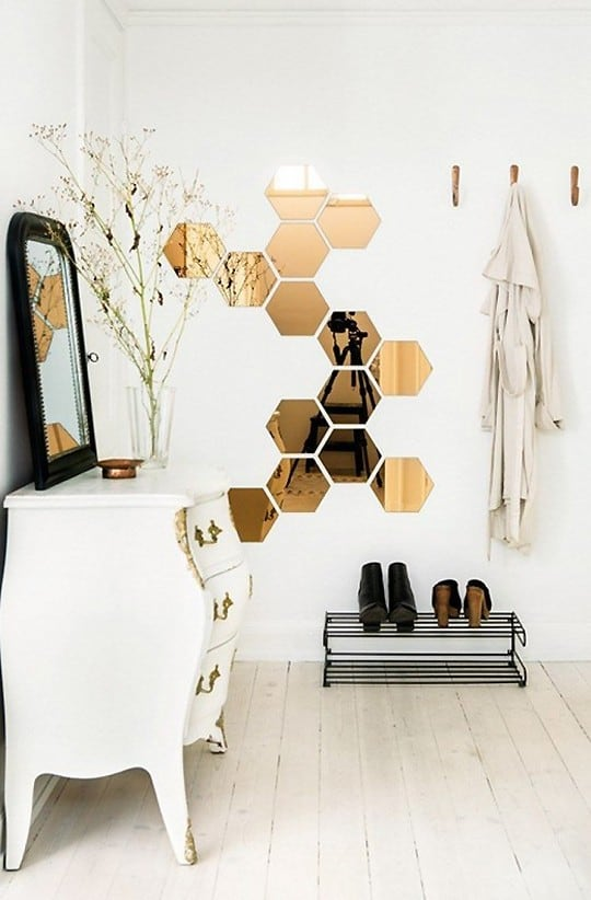 Hex Cellent Jump On The Hexagon Decor Trend Sugar Cloth