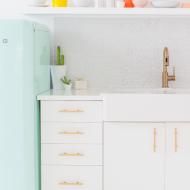 sugar and cloth studio kitchenette | sugar & cloth