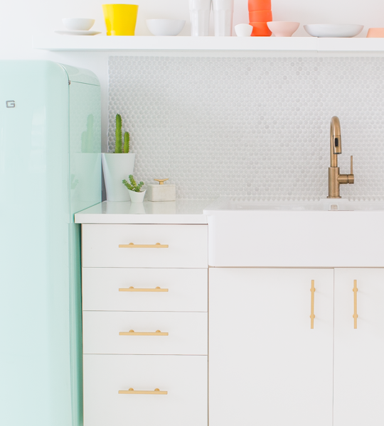 sugar and cloth studio kitchenette | sugar & cloth