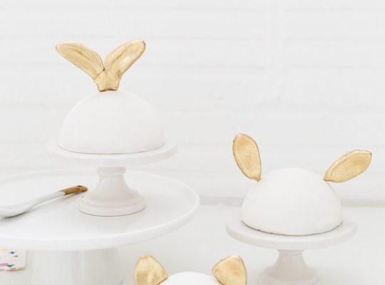 DIY animal ear cake toppers | sugar & cloth