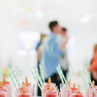 strawberry lemonade poptails