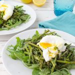 Asparagus & Poached Egg Salad Recipe | sugar & cloth
