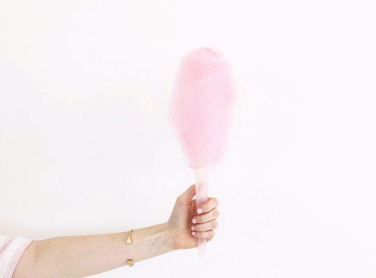 cotton candy maker! | sugar & cloth