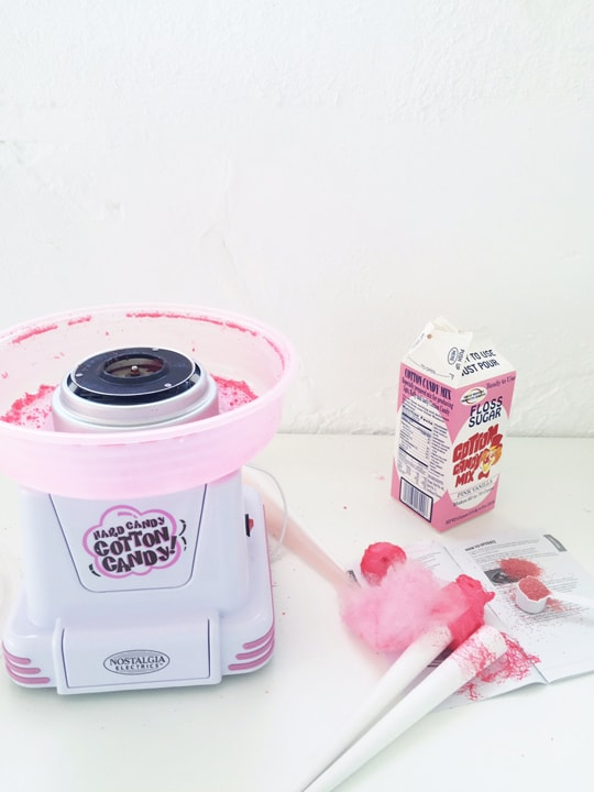 cotton candy maker!