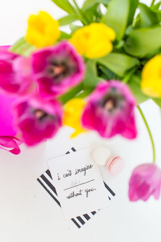 sending love back home for mother's day | sugar & cloth