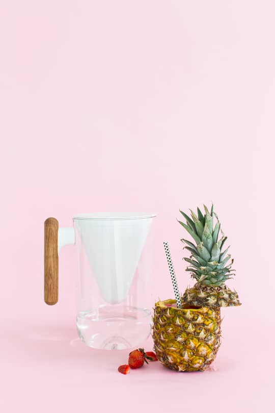 5 flavored water recipes & DIY fruit cups   sugar & cloth