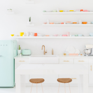 smeg appliances in the sugar & cloth studio and a giveaway!
