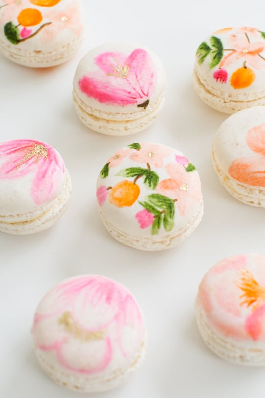 DIY Floral Macarons | Sugar & Cloth Macarons