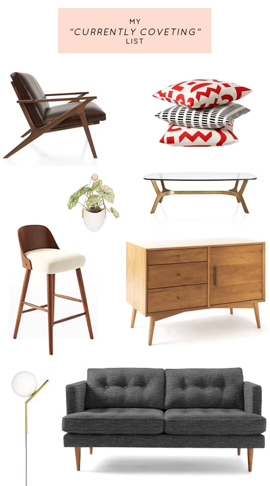 my current mid century furniture wish list!! | sugar & cloth