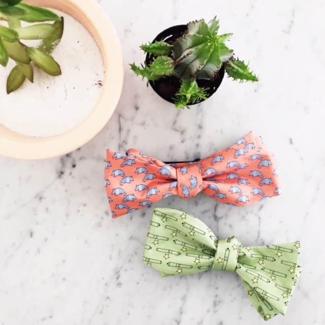 awesome patterned bow ties from Paris Texas Co.