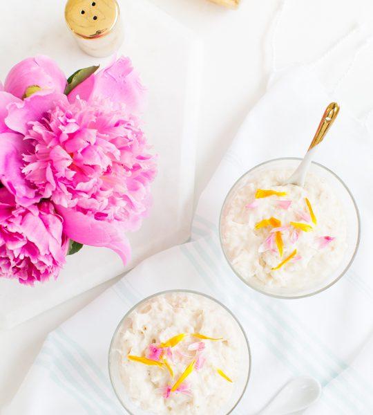 vanilla bean tapioca pudding recipe | sugar & cloth