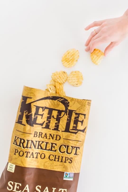 funfetti dessert chips recipe --  Sugar & Cloth