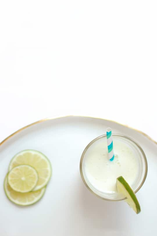 Spiked Brazilian Limeade Recipe | Sugar & Cloth
