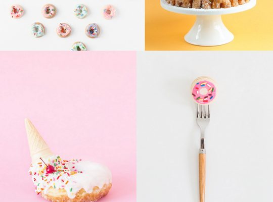 10 Donut projects and recipes to have no hand | sugar & cloth