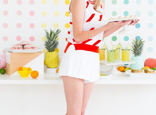 DIY Retro Summer Brunch - Sugar & Cloth