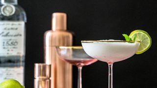 Sips For Summer: Slushy Coconut Mint Margarita Cocktail