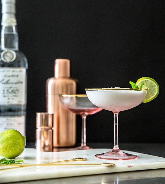 Sips of Summer: Slushy Coconut Lime Margarita - Sugar & Cloth