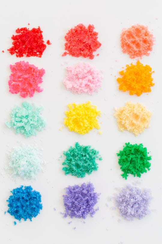 Step 3 - DIY Sugar Scrub Sand Art by top Houston lifestyle blogger Ashley Rose of Sugar & Cloth - #sand #relax #reset #sandart #gift #host #sugarscrub #scrub #diy #recipe #colorful