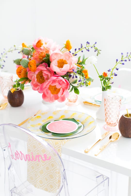 DIY Retro Summer Brunch - Sugar & Cloth