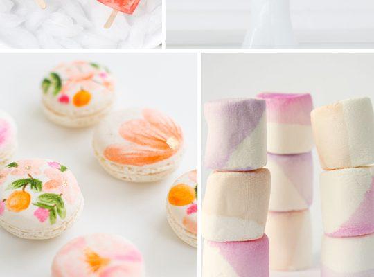6 watercolor desserts we're loving - Sugar & Cloth