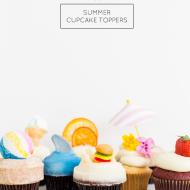 11 Summer Cupcake Toppers - Sugar & Cloth