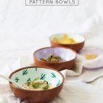 Fancy Fiesta: DIY Pattern Bowls