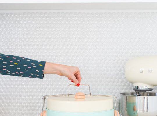 DIY retro cake carrier | sugar & cloth