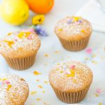 lemon orange olive cupcake recipe - sugar & cloth