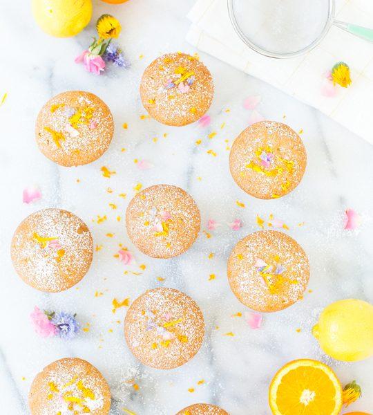 lemon orange olive cupcake recipe - sugar & cloth