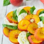 Ripe for the Picking: Peach Caprese Salad Recipe