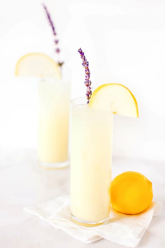 vodka pear lavender lemonade recipe - sugar & cloth